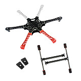 JMT F550 Drone Frame Kit 6-Axis Airframe 550mm Quadcopter Frame Kit with Landing Skid Gear & Mount