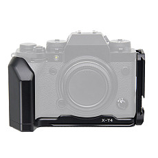 BGNing Quick Release Plate for Fujifilm XT4 SLR Bracket Protector QR Plate Holder with Hand Grip Camera Cage Holder for Fuji X-T4