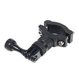 BGNing Aluminum Bicycle Sports Camera Mount Bike Handlebar Mount Adapter 360 Degree Rotation Bracket For GoPro Phone Holder