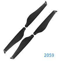 JMT 4PCS 2066/2272/2479 Carbon Fiber Folding Propeller Noise Reduction Prop for Multi-axle/Multi-rotor RC Drone Quadcopter