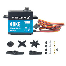 Feichao 40KG Metal Gear Digital Servo High Torque Waterproof Digital Servo For 1:8/1:10/1:12 RC Cars Boat Spare Parts