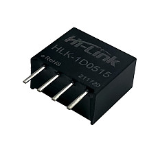 HLK-1D0515 11.5 * 10 * 6mm 5V to 15V66mA DCDC Industrial Power Module 1D0515 Small Size SPI Isolated Unregulated Module