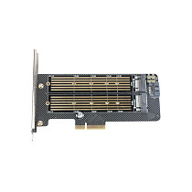 XT-XINTE PCIE to M2 Hard Disk Adapter Expansion Cards PCI-E X4 3.0 M.2 SSD for NVME SATA Protocol M key/B key 2230-22110 SSD