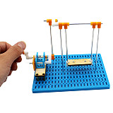 FEICHAO DIY Swing Materials Handmade Invention Experiment Hand Gear Transmission Science Project Set Children Student Educational Toy
