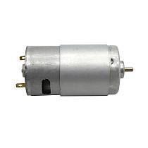 FEICHAO 2pcs 575 Motor for Handmade Robot Toy Car Models Maker DC 12V Micro Motor 3200 rpm DIY Circuit Motor with 3.175mm Shaft Diameter