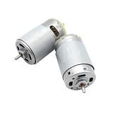 2PCS FEICHAO Electric 12V Mini 555 Motor DC 12V 3.175mm Shaft Diameter 1200rpm High Speed Motors Controller DIY Electric Drill