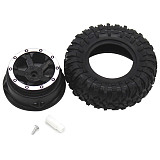FEICHAO 10pcs DIY Handmade Model Rubber Wheels 3*78mm Tire Plastic Wheel Rim Hub Shaft Hole 3mm Tyre Diameter 78mm for 4WD Car Parts