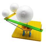 FEICHAO DIY Simulation Model STEAM Toys Sun Earth Moon Relational Model Science Learning Eductional Toys Teaching Demonstration Model