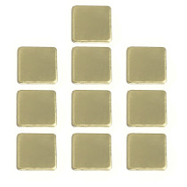 XT-XINTE 10Pcs 12x12x1MM Thermal Pad Barrier Pure Copper Heatsink Shim For Laptop Plate Computer Graphics Card Heat Sink Cooling Pad