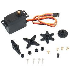 Feichao DM0900 9kg / M1500 15kg Copper Gear Servo For 1/8 1/10 RC Car Traxxas HPI HSP Spare Part