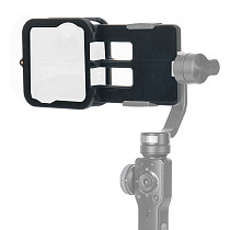 FEICHAO BJB-GMAX-SL 3D Printed Camera Splint Cover Clamp Bracket Stabilizers For DJI GoPro max Camera Smartphone Gimbal Stabilizer