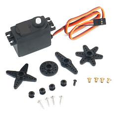 Feichao High Quality P0300 3KG/ P0600 6kg Plastic Gear Servo For 1/10 Redcat LRP Traxxas HPI HSP RC Car Accessories RC Parts