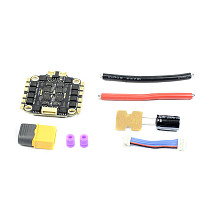 HAKRC HK3260 60A 4In1 ESC Electronic Speed Controller BLHeli-32 DShot1200 for 2-6S FPV Racing Drone