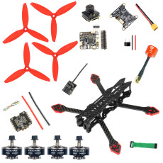 FEICHAO F4 X2 DIY Version FPV Racing RC Drone 225mm 3-4S RC Quadcopter Built-in OSD Betaflight Support BLHeliSuit Configuration