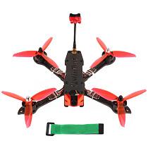 JMT three225 FPV Racing Drone 225mm Airframe with F4 Betaflight Pro (V2) Built-in OSD / BEC FC 1200TVL PAL Camera 2204-2300KV Motors BLHeli_32 ESC 5043 3-paddle Propeller