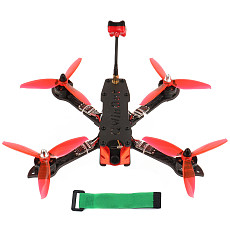 JMT three225 FPV Racing Drone 225mm Airframe with F4 Betaflight Pro (V2) Built-in OSD / BEC FC 1200TVL PAL Camera 2204-2300KV Motors BLHeli_32 ESC 5043 3-paddle Propeller