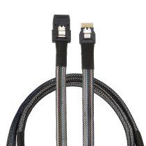 XT-XINTE Slim SAS 38P To Mini SAS 36P Sff-8654 To Sff-8087 Server Hard Drive Cable Server Hard Disk Cable SAS38P To SAS36P