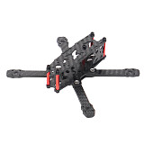 JMT FS135 135mm Wheelbase Mini FPV Frame Kit Carbon Fiber CF Rack For DIY FPV Racing Drone Quadcopter 3 inch Props 1103/1104/1305 Motor