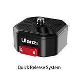 Ulanzi Quick Release System/Shoulder Strap/ Shoulder Base/Super Quick Release Plate/Shoulder strap Base/GoPro Quick Release Mount for SLR stabilizer