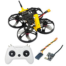 FEICHAO FullSpeed MiniPusher Cinewhoop Brushless FPV Racing Drone w/ Crossfire Nano/FD800 Mini Receiver for insta 360 go Action Camera