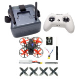 Happymodel Mobula7 HD 2-3S 75mm Crazybee F4 Pro BWhoop Mobula 7 FPV Racing Drone PNP BNF w/Turtle V2 HD Camera LiteRadio TX
