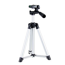 BGNING Aluminum Alloy 50cm Multi-function Tripod PTZ Live Support for Mobile Phone SLR Camera Photography Video Live Shooting Tripod