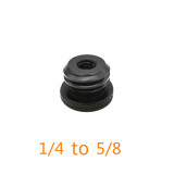 BGNING 1/4'' to 5/8  Adpater or 1/4  to 3/8  Male to Female Thread Screw Mount Adapter Tripod Plate Screw Mount for Camera Flash Tripod Light Stand