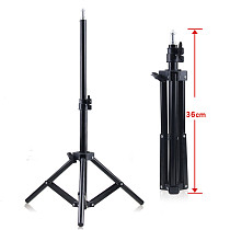 BGNING Camera Photography Extended Stabilized Tripod Fill Light Metal Three-section Tripod for Mobile Phone Micro SLR Camera Photography