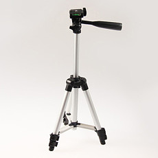 BGNING Three-section Rotatable Mobile Phone Live Broadcast Stand for Mobile Phone SLR Camera Photography Stabilized Tripod