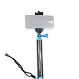 BGNing 360Degree Rotation Bike Clamp Selfie Tripod Stand with Mobile Phone Clip Mount for GoPro7 8 Max AKASO EK7000 4K Cameras