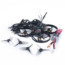 GeeLang Anger85X 1080HD Cinema Bwhoop 2-3S 85mm First Person View Racing Drone RC Quadcopter with Baby Tuetle 1080P FPV Camera KV8700 Motors