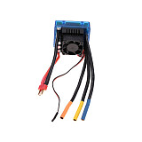 Surpass Hobby Waterproof 120A Brushless ESC Electric Speed Controller 2-6S for 1/8 RC Car Crawler RC Boat Part