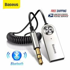Baseus Receiver USB Bluetooth 3.5mm AUX Audio Adapter Cable Car Home PC Wireless Receiver