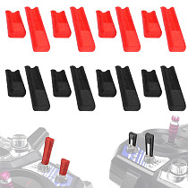 FEICHAO 8PCS/Set 3D Printed TPU RC Drone Airplane Remote Control Channel Switch Protector For FLYSKY AT9 AT10 JUMPER T16 T18 Transimitter