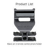 RCSTQ Quick Release Tablet Phone Holder Adjustable Stand Bracket for DIY FPV DJI Mavic Air 2 Racing Drone Remote Control Accessories