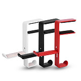 XT-XINTE Metal Headphone Stand Desk Headphone Stand Space Saving Hook HolderOffice Display Stand Non-slip Table Clamp