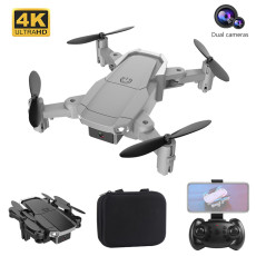 FEICHAO H6 RC Drone 4K Dual Camera Hight Hold Mode Foldable Arm RC Quadcopter 2.4G Drone RTF Drone WIFI FPV With Wide Angle