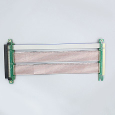 XT-XINTE PCI-E4.0 High Speed to 16X PCIe Riser Card X16 Extender Flexible Ribbon Extension Cable Adapter