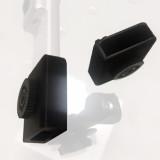 BGNING 1/4 Single Port Version 1/4 And GOPRO Dual Port Version Reserved Charging Port Version 3D Printed Parts for Insta360 Nano/Nano s Camera Adapter Base