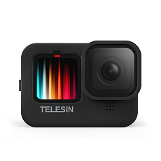 TELESIN Camera Protective Silicone Case Cover Anti-drop Suitable for Gopro9 Cover Accessories