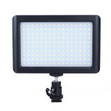 BGNING 160 LED Studio Video Light Portable Outdoor Photography LED Light Live Fill Light Panel Lamp for Canon Nikon SLR Camera Photography Accessories
