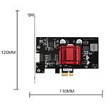 DIEWU POE PCI-E Network Card POE 10/100/1000M Gigabit Ethernet Converter Network LAN Adapter for POE Camera Visual Capture Card