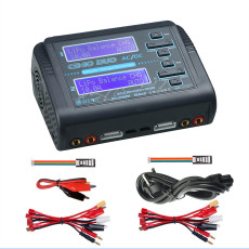 HTRC C240 DUO AC 150W DC 240W 10Ax2 Dual Channel Multi-function RC Battery Balance Charger