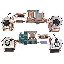 XT-XINTE Laptop / Notebook CPU / GPU Cooling Radiator Heatsink and Fan for MSI GE62VR GP62MVR GE72VR GP72VR Noise Reduction Design