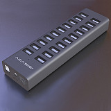 Acasis 20 Port USB 2.0 Hub Charger Switch Splitter Powered Adapter High Speed for Desktop/Laptop/PC/Phone
