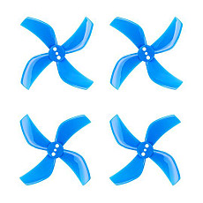 Gemfan Hurricane 2020 4-Blade Propeller Accessories 1.5mm Shaft CW CCW for 1103-1105 Brushless Motor for 85mm RC Drone FPV Racing