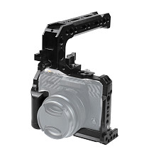 FEICHAO BTL-FT30 Aluminum Alloy XT20/XT30 Rabbit Cage Expansion Camera Protection Frame Tripod Expansion Platform Handheld Camera Accessories Cold Shoe Holder Fill Light Lamp Holder for Fuji XT20/XT30 Cameras