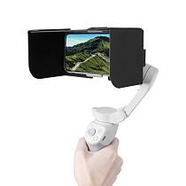Sunnylife Foldable Mobile Phone Hood Anti-reflective Sunshade Magnetic Leather For DJI Osmo4 Camera