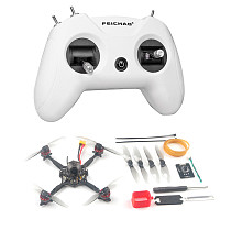 Happymodel Crux3 115mm 41gram CrazybeeX AIO 4in1 Flight Controller EX1202.5 KV6400 For Insta 360 1-2s Brushless Toothpick Drone RC FPV Drone