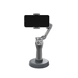 Sunnylife Handheld Gimbal Stabilizer Bracket Stand Desk Base Mount Bracket for OM 4 / OSMO Mobile 3 Extension Gimbal Fixed Accessories